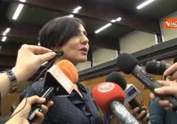 """Concertone, Ambra Angiolini: """"Speriamo che anche fuori si parli dei temi veri"""" La conferenza stampa di presentazione dell'edizione del 2019 - Agenzia Vista/Alexander Jakhnagiev"""