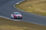 Shelley, la Audi TTS autonoma dell'Università di Stanford, durante i test sulla pista di Thunderhill (fonte: Kurt Hickman/Stanford News Service)