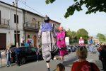 I giganti che hanno sfilato a Maierato