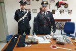 Armi e droga per 200 mila euro nascoste tra i ruderi, scatta il sequestro a San Gregorio d'Ippona
