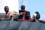 Nuovo sbarco di migranti a Lampedusa, in 38 arrivano a Cala Galera