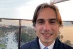 Il sindaco Giuseppe Falcomatà tra i primi a testare la ruota panoramica