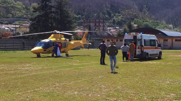 ferito da motozappa, torre di ruggiero, Catanzaro, Calabria, Cronaca