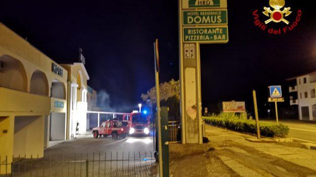 incendio, santa maria del cedro, Cosenza, Calabria, Cronaca
