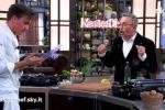 Incidente nella finale di Masterchef, Gilberto si taglia e manda lo chef Barbieri a cucinare