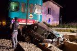 Treno travolge auto a Noto, rimasta uccisa una donna