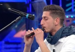 «La Corrida», vince il flauto (di cioccolato) di un giovane palermitano Oltre quattro milioni i telespettatori su Rai1 - LaPresse