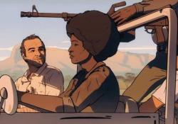La lezione di Kapuscinski formato cartoon (Voto 7) L'esperienza del grande giornalista polacco durante la guerra civile angolana - Corriere Tv