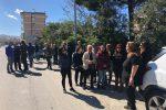 Degrado nei rioni Modena e Ciccarello di Reggio: la protesta al grido di #bastabuche - Foto