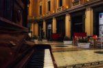 Messina, dietrofront sul pianoforte: resterà dentro la galleria Vittorio Emanuele