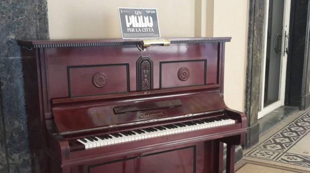 galleria vittorio emanuele, pianoforte messina, Messina, Sicilia, Cronaca