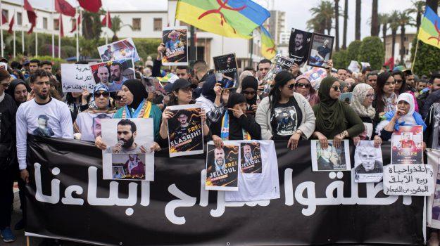 marocco proteste, rabat, Nasser Zefzakil, Sicilia, Mondo