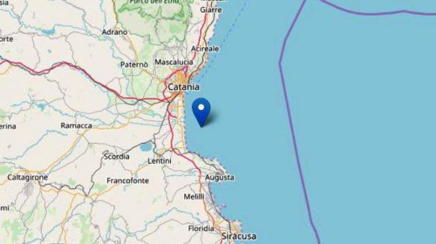 ingv, terremoto catania, Sicilia, Cronaca