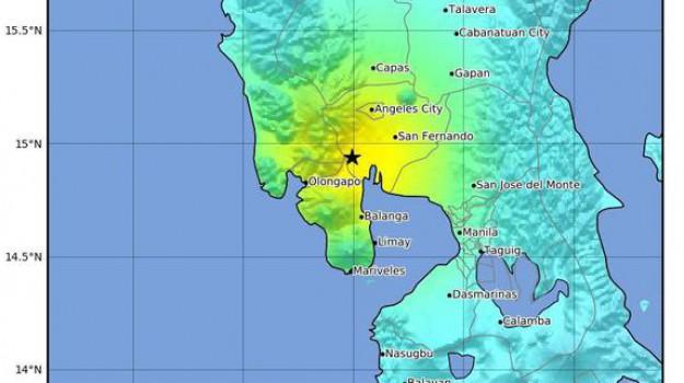 terremoto filippine, Sicilia, Mondo