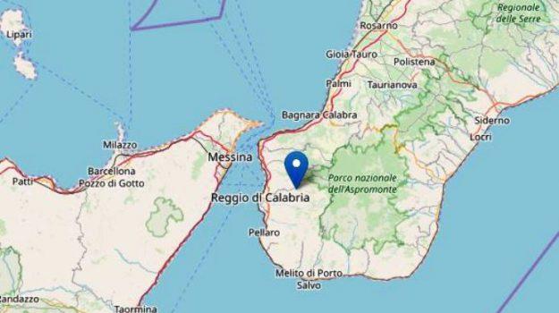 cardeto, ingv, terremoto calabria, Reggio, Calabria, Cronaca