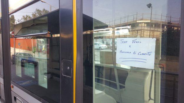 guasto tram messina, trasporti, Messina, Sicilia, Cronaca