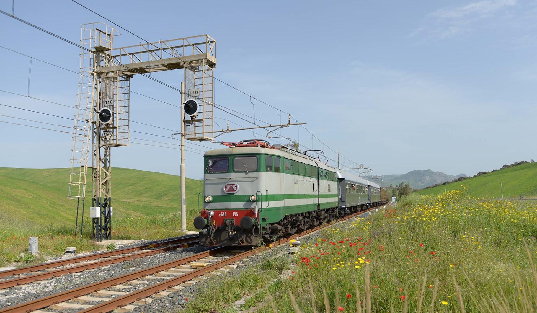 Calendario Treni Storici 2020.Al Via I Treni Storici Del Gusto In Sicilia Gazzetta Del Sud