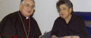 Monsignor Luigi Renzo e Natuzza Evolo