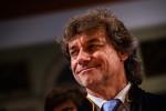 Il sorriso di Alberto Angela mentre riceve la laurea honoris causa a Palermo - Foto