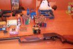 Sequestro di armi e munizioni