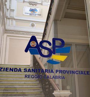 La sede dell'Asp di Reggio Calabria