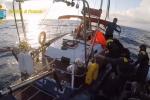 Veliero carico di droga fermato nel Canale di Sicilia: a bordo hashish per 50 milioni - Video