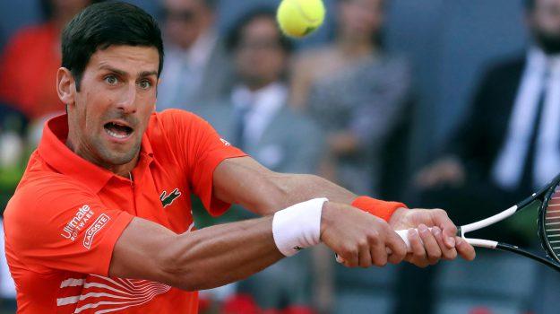 atp madrid, tennis, Novak Djokovic, Sicilia, Sport