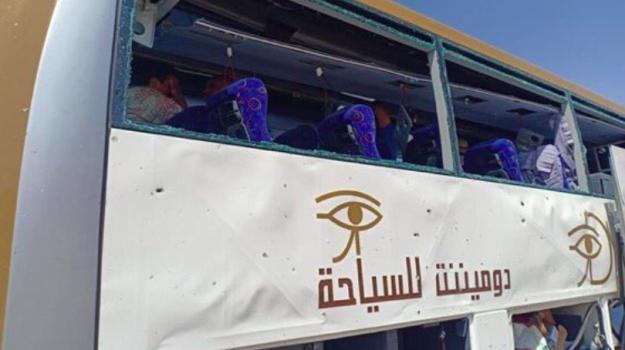 bomba, bus turistico, egitto, Sicilia, Mondo