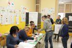 Un seggio elettorale a Messina