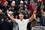 Internazionali d'Italia, Federer, Nadal e Djokovic ai quarti. Fuori Cecchinato