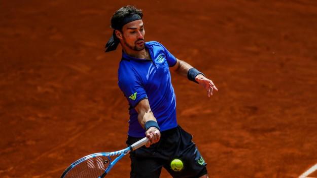 atp roma, internazionali d'italia, tennis, Fabio Fognini, Sicilia, Sport
