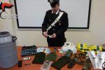 Sequestrato un nuovo bunker a Platì, trovato anche un tubo con 50 mila euro e munizioni