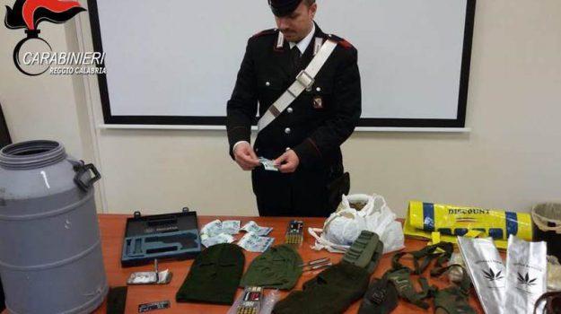 bunker, platì, sequestro, soldi e munizioni, Reggio, Calabria, Cronaca