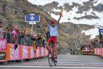 Giro d'Italia: Zakarin vince a Ceresole, Nibali e Roglic si controllano