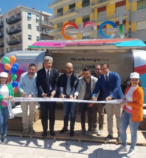 Inaugurazione Enel Energia Tour a Cosenza