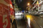 Incendio nella notte a Maida, danneggiate due auto: indagini in corso