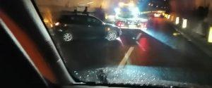 L'incidente nella galleria Spadalara a Messina