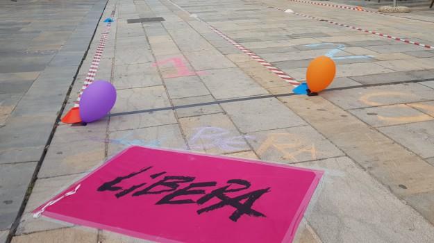 criminalità organizzata, libera, protesta Pizzo, Catanzaro, Calabria, Cronaca