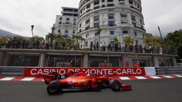 ferrari, formula 1, gran premio di monaco, montecarlo, Charles Leclerc, Sicilia, Sport
