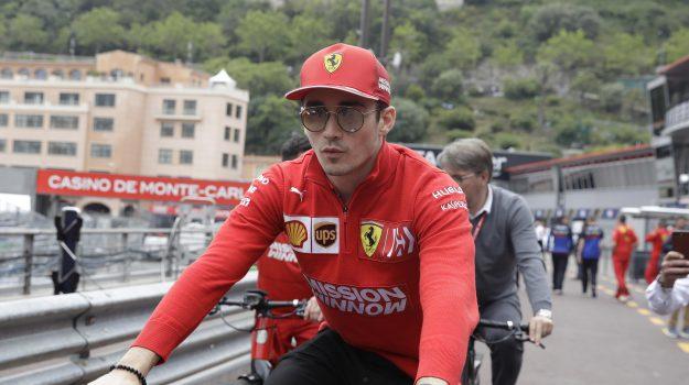 ferrari, formula 1, Gran premio Monte Carlo, Charles Leclerc, Sicilia, Sport