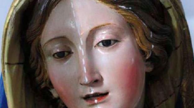 beni culturali, madonna di portosalvo, scultura, madonna di portosalvo, Reggio, Calabria, Cultura