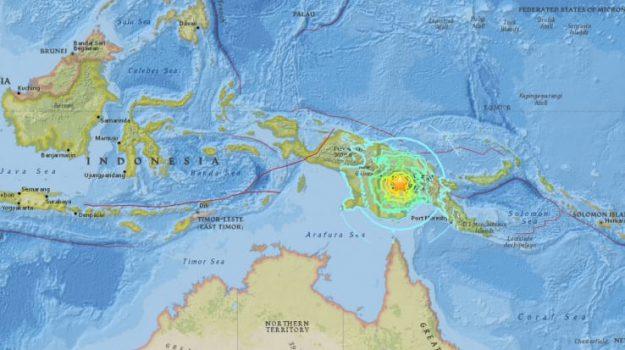 terremoto papua nuova guinea, tsunami, Sicilia, Mondo