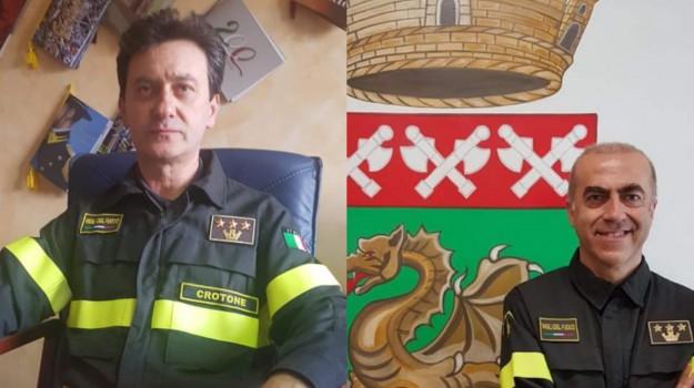 vigili del fuoco, Antonino Casella, Pier Nicola Dadone, Catanzaro, Calabria, Cronaca