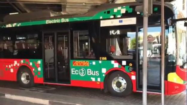 atm, bus elettrici, messina, Messina, Sicilia, Economia