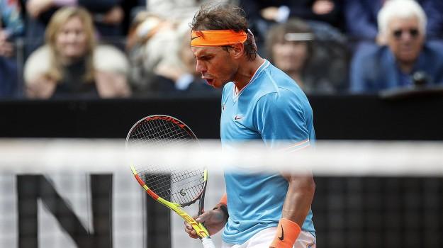 atp roma, internazionali d'italia, tennis, Rafael Nadal, Stefanos Tsitsipas, Sicilia, Sport