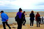 Sopralluogo alla discarica alla foce dell'Angitola a Pizzo