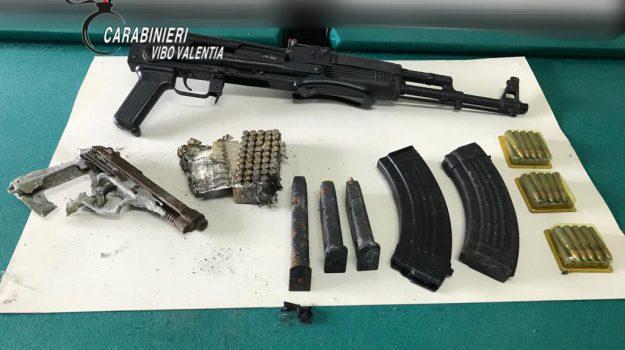 sequestro armi san calogero, Catanzaro, Calabria, Cronaca