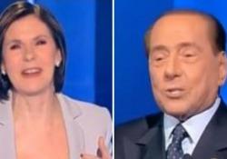 Berlusconi bacchetta Bianca Berlinguer: «Troppe interruzioni, la tv non si fa così» Così l'ex premier alla conduttrice di «Cartabianca» su RaiTre - LaPresse