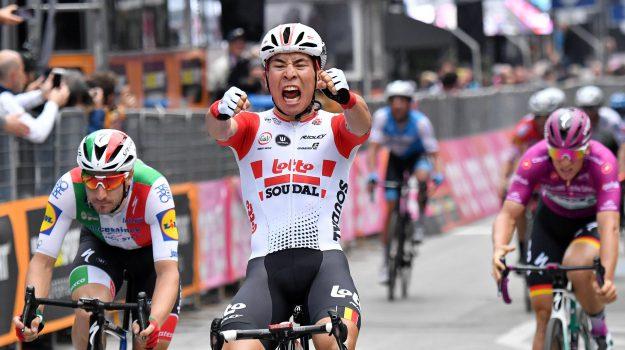 ciclismo, giro d'italia, Caleb Ewan, Sicilia, Sport