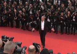 Cannes, Palma d'Oro alla carriera ad Alain Delon La star francese emozionata sul red carpet - LaPresse